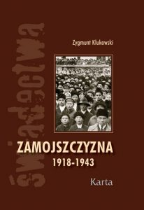 Zamojszczyzna 1918-1943- okładka książki