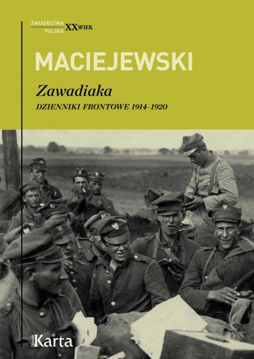 Zawadiaka - okładka książki