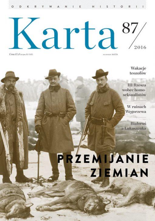 """Karta 87, kwartalnik historyczny""""Karta"""""""