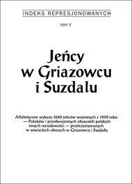 Jeńcy w Griazowcu i Suzdalu - okładka książki