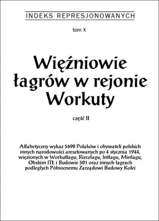 Więźniowe Workuty, t. 2 - okładka książki