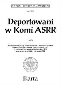 Deportowani w Komi ASRR. Część 2