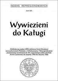 Wywiezieni do Kaługi - okładka książki