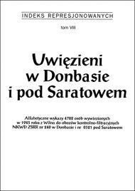 Uwięzieni w Donbasie i pod Saratowem - okładka książki