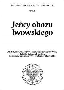 Jeńcy obozu lwowskiego - okładka książki