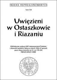 Uwięzieni w Ostaszkowie i Razaniu - okładka książki