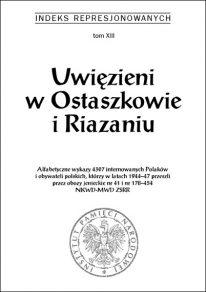 Uwięzieni w Ostaszkowie i Riazaniu