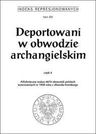 Deportowani Archangielsk 4 - okładka książki