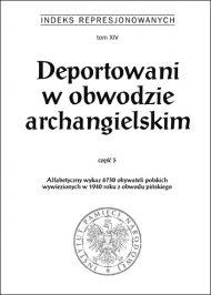 Deportowani Archangielsk 5 - okładka książki