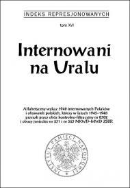 Internowani na Uralu - okładka książki