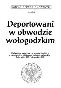 Deportowani w obwodzie wołogodzkim