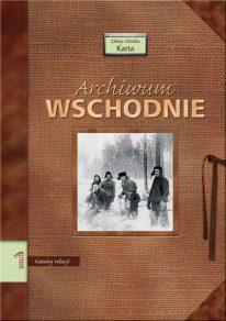 Archiwum Wschodnie 1 - okładka książki