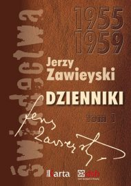 Jerzy Zawieyski Dziennik 1955-1959 okładka książki