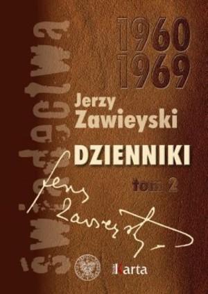 Jerzy Zawieyski Dziennik 1960-1969 okładka książki