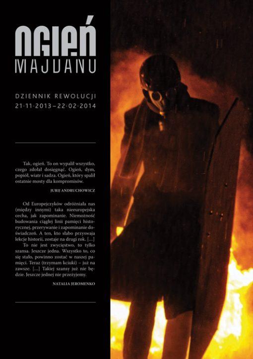 Ogień Majdanu - okładka książki