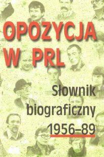 Opozycja w PRL 1 okładka książki