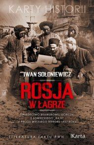 Rosja w łagrze - okładka książki