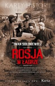 Rosja włagrze - okładka książki