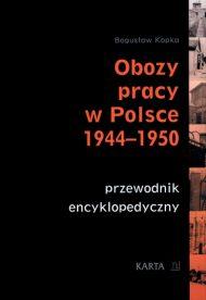 Obozy pracy w Polsce 1944-50 - okładka książki