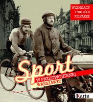 Sport w przedwojennej Warszawie - okładka albumu