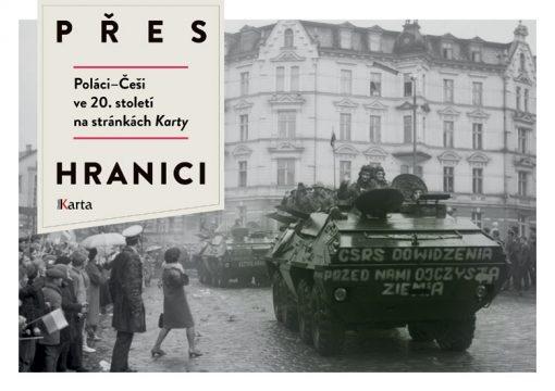 Pres hranici - okładka książki