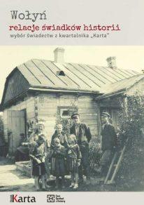 """Okładka publikacji """"Wołyń. Relacje świadków"""""""
