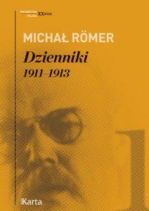 Romer Dzienniki I- okładka książki