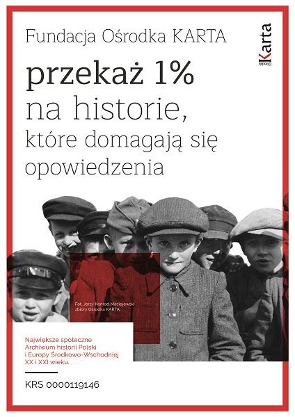 1% dla Fundacji Ośrodka KARTA