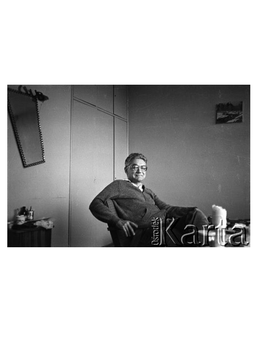"""Audycja o""""Dziennikach"""" Wiktora Woroszylskiego"""
