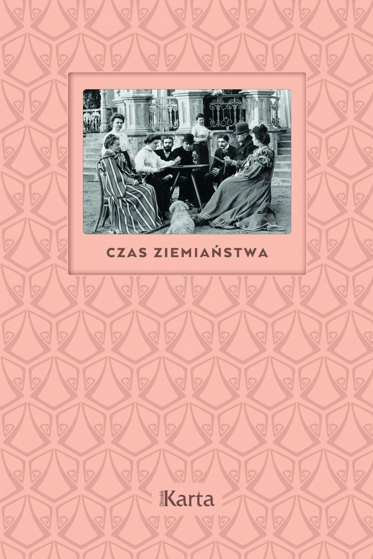 Książka z kategorii Albumy: CZAS_ZIEMIANSTWA-_okladka-CMYK