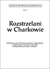 Rozstrzelani w Charkowie