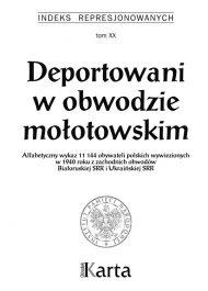 Deportowani w obwodzie mołotowskim - okładka książki