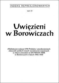 Uwięzieni w Borowiczach - okładka książki