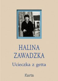 Ucieczka z getta - okładka książki