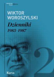 Woroszylski Dzienniki II - okładka książki