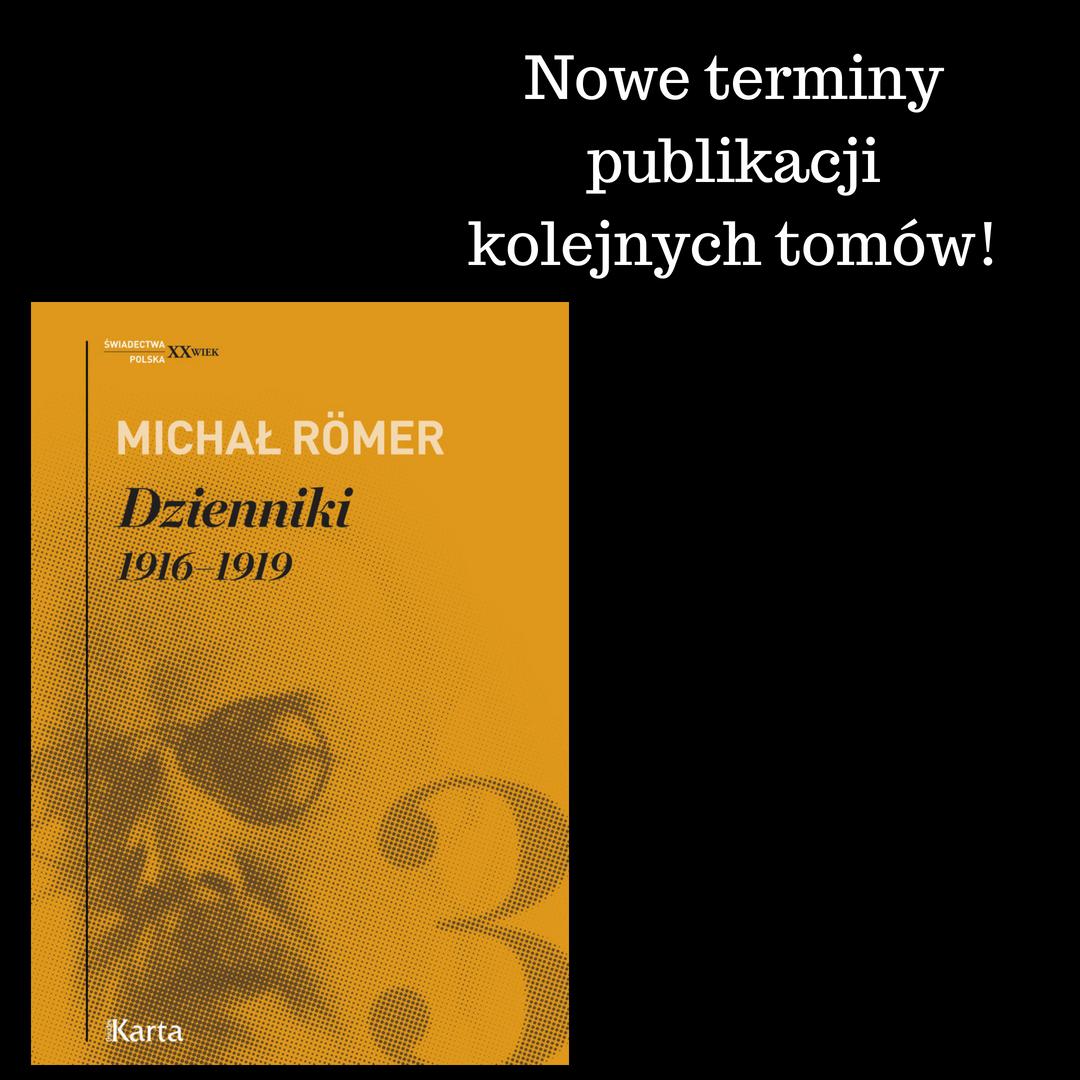 """Opóźnione premiery """"Dzienników"""" Michała Römera"""