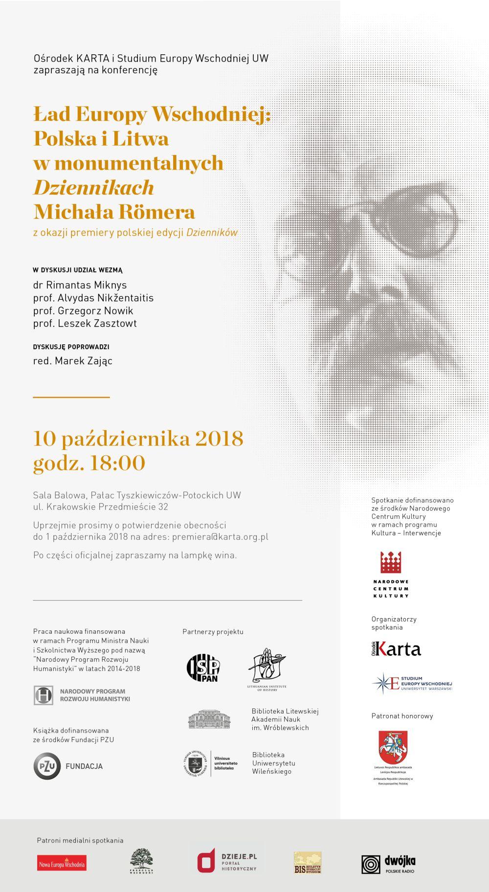 Polsko-litewska konferencja – 10.10.2018, Warszawa