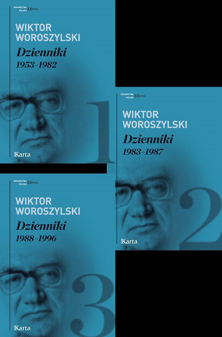 """""""Dzienniki"""" Wiktora Woroszylskiego nominowane!"""