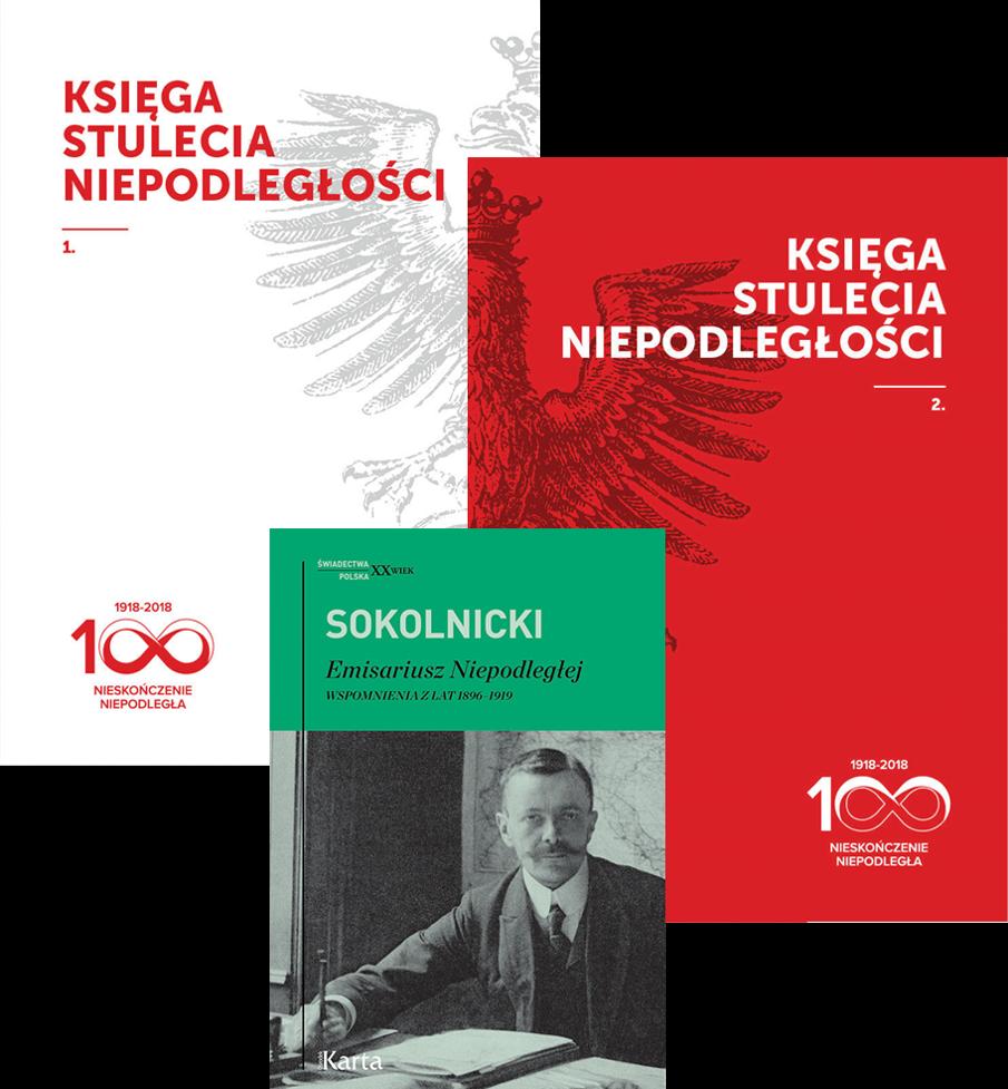 """Pakiet książek """"niepodległościowy"""""""