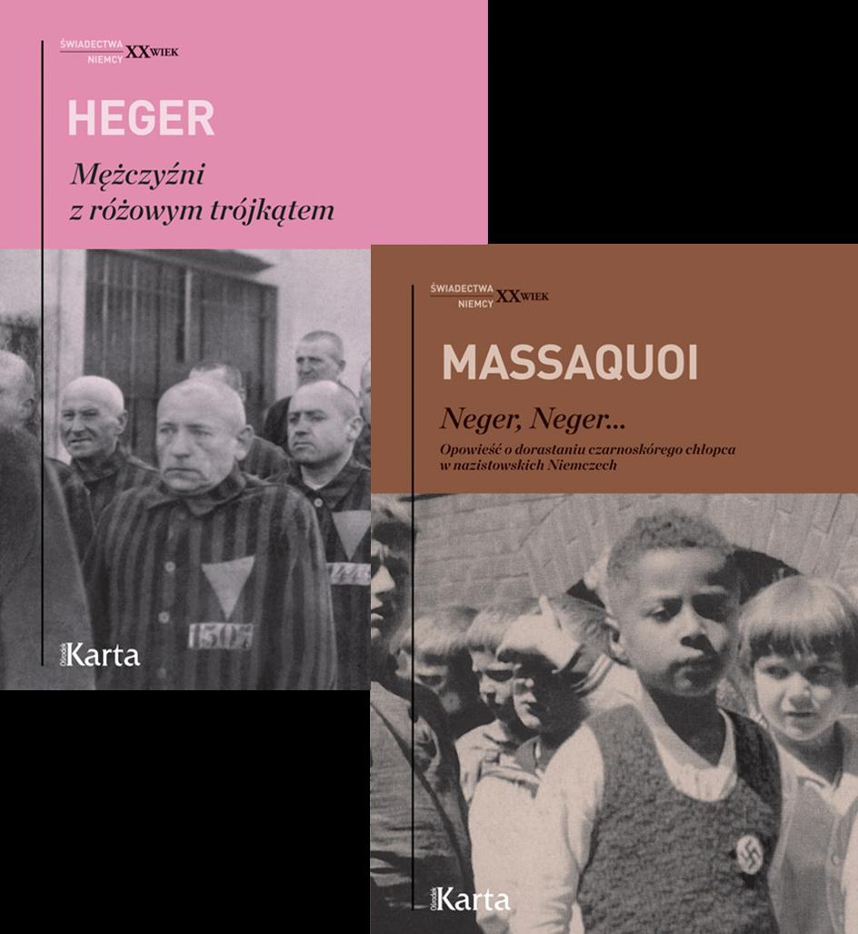 """Pakiet książek """"Prześladowani w III Rzeszy"""""""
