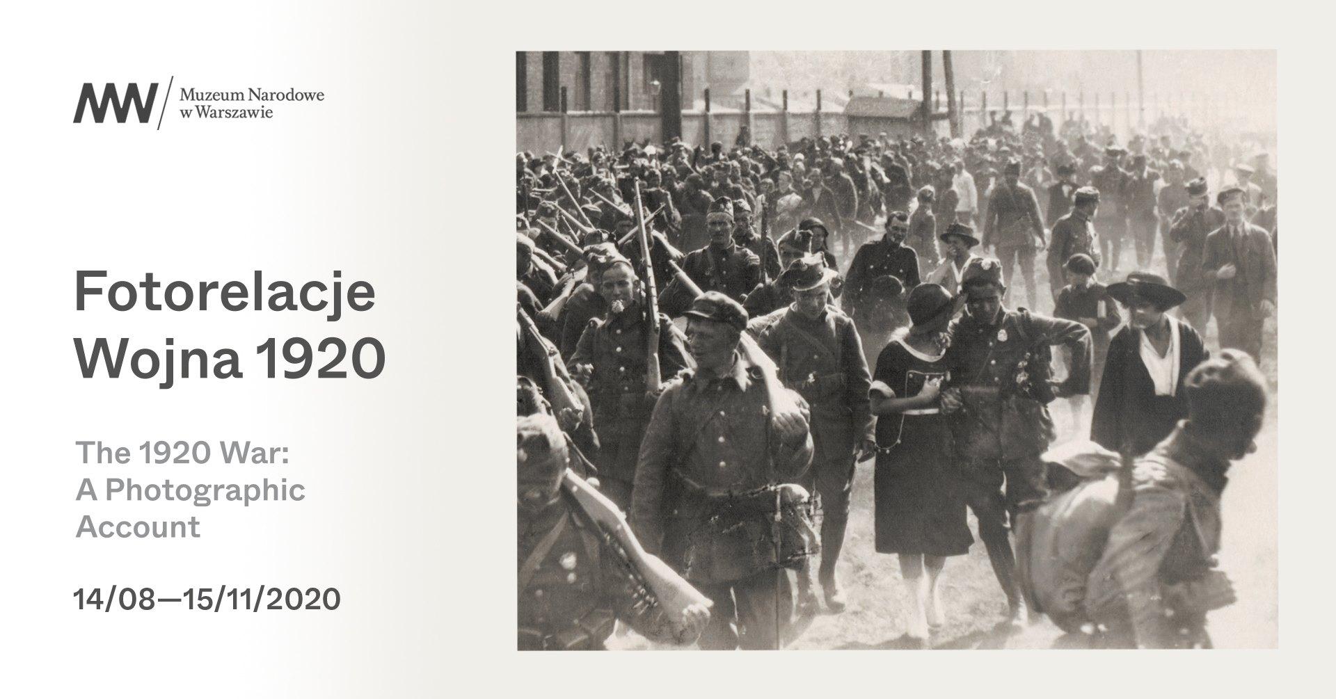"""""""Fotorelacje. Wojna 1920"""" – zaproszenie nawystawę"""