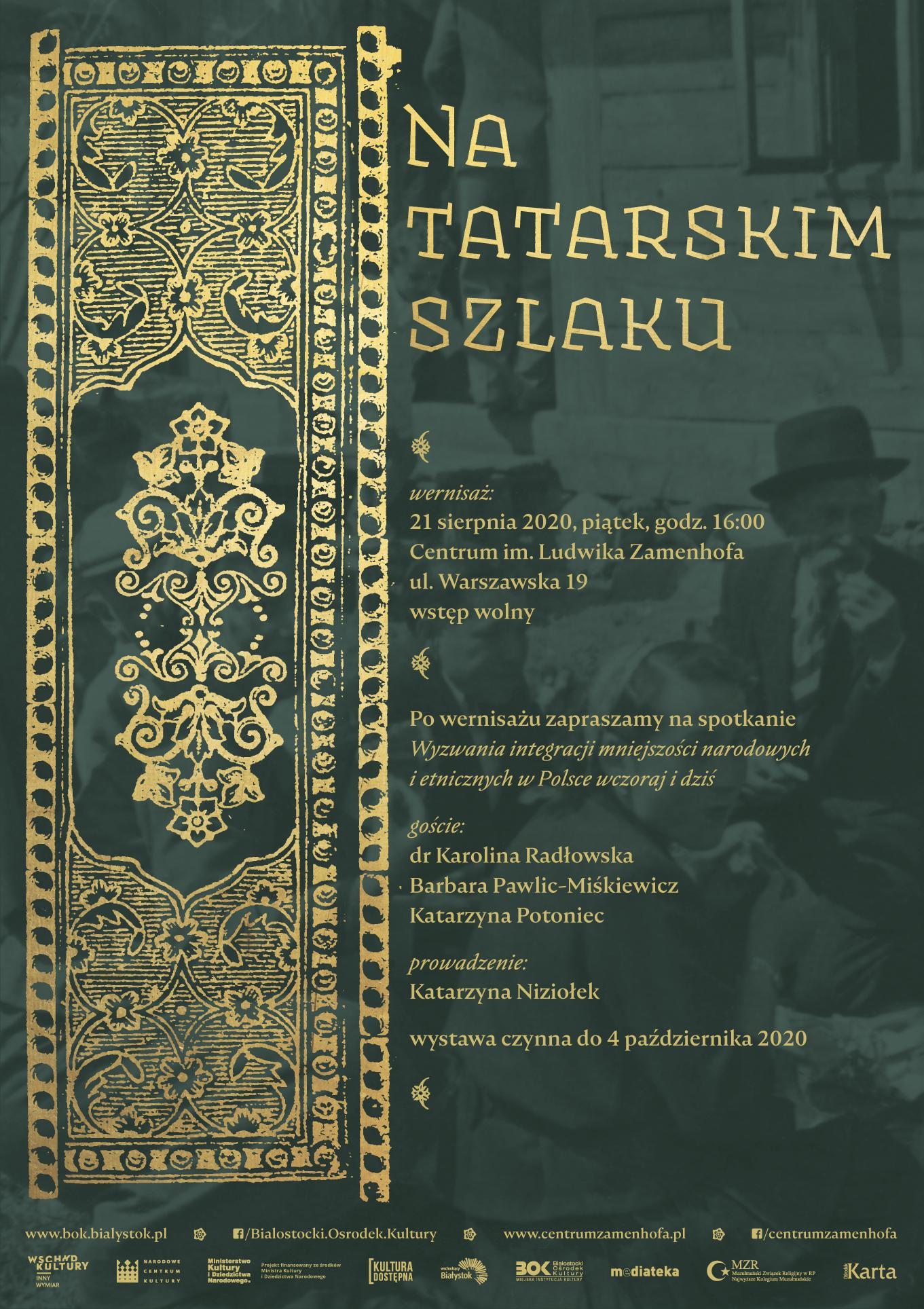 """""""Na tatarskim szlaku"""" – zaproszenie nawystawę"""