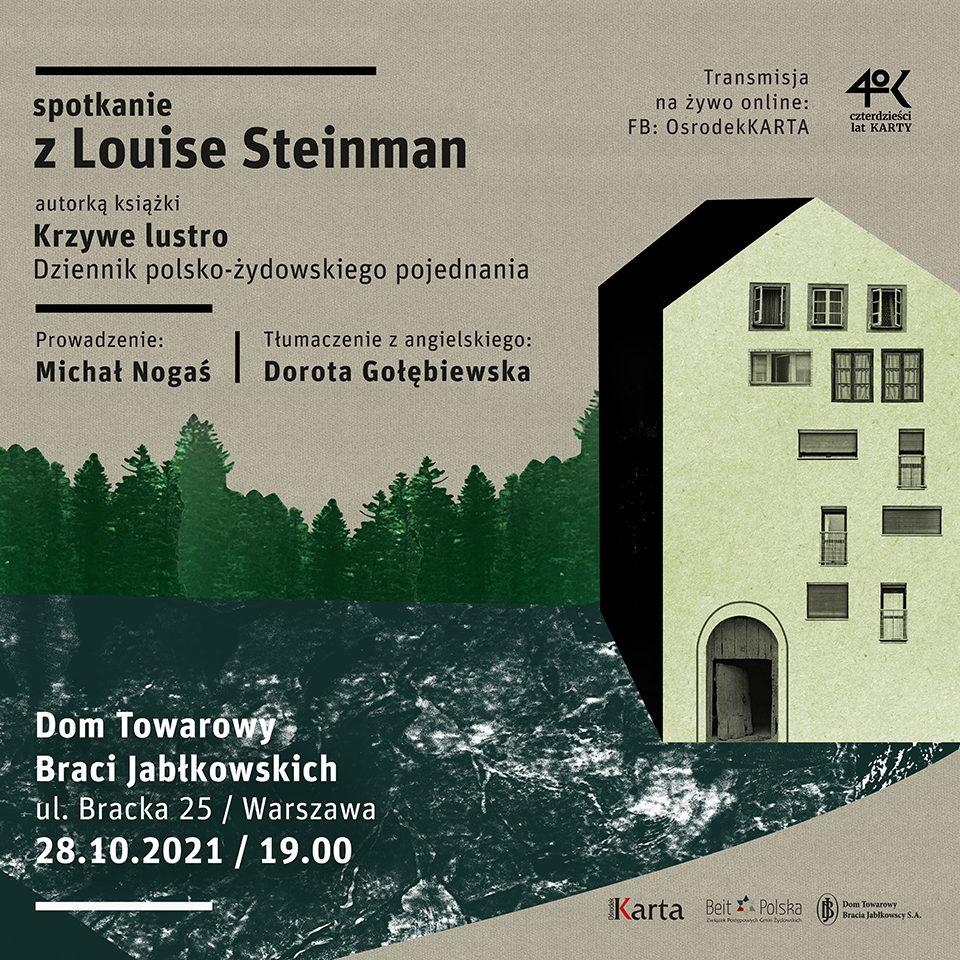 Spotkanie zLouise Steinman wWarszawie ionline